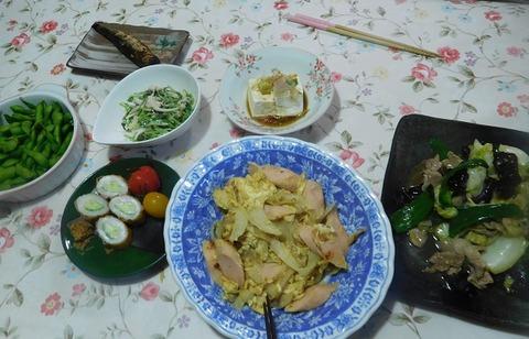 5月16日の夕食
