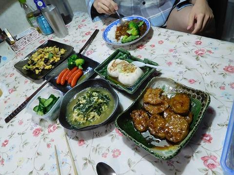 4月20日の夕食