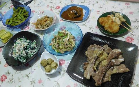8月23日の夕食