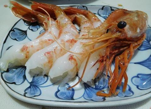 北海ボタン蝦
