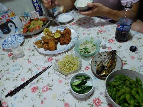 8月22日の食卓