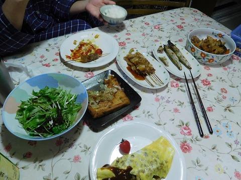 2月25日の夕食