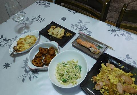 1月15日の夕食