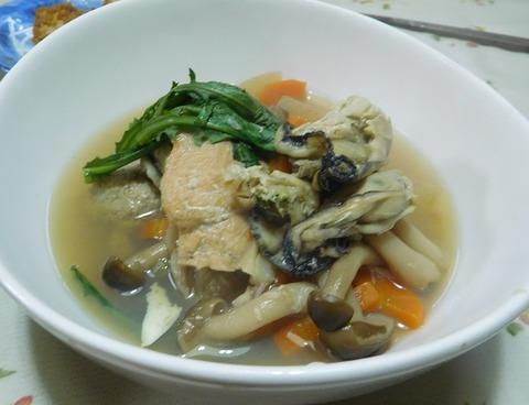 牡蛎みそ鍋