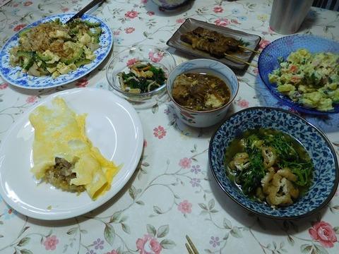 9月21日の夕食