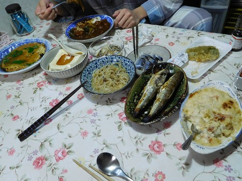 11月27日の夕食