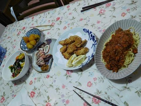 1月25日の夕食