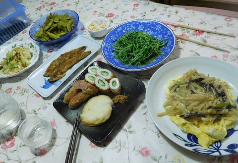 9月7日の夕食