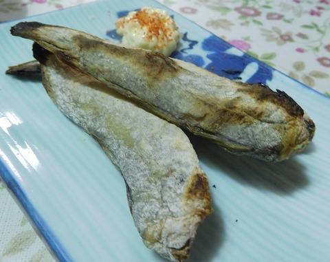 焼き氷下魚