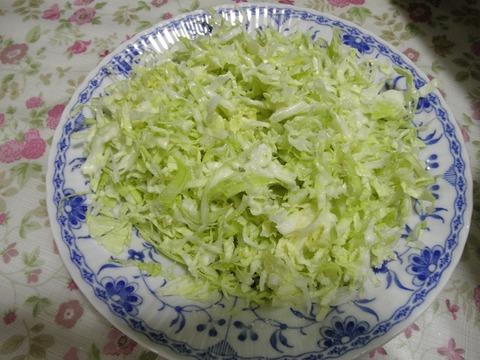 モッツァレラチーズキャベツサラダ