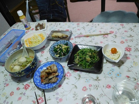 1月28日の夕食