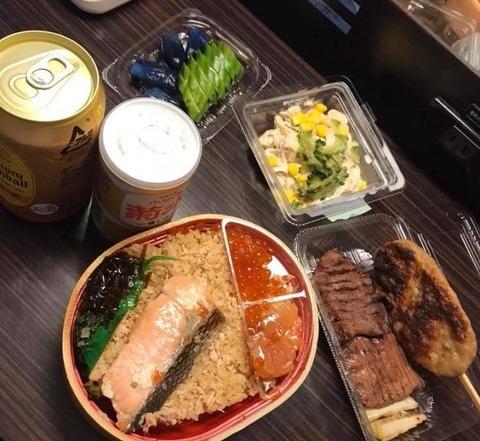 8月6日の夕食