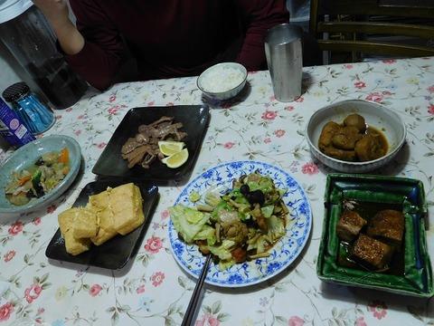 1月9日の夕食