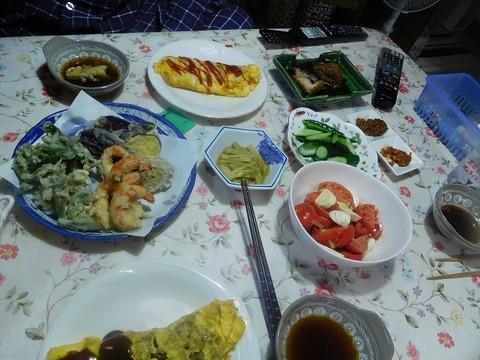 5月7日の夕食