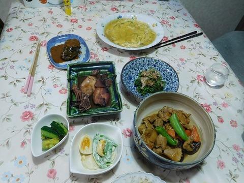 ㋅21日の夕食