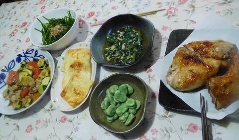 5月12日の夕食