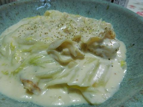ホタテのクリーム煮