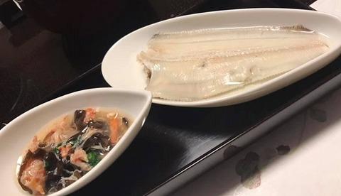 笹鰈の塩煮