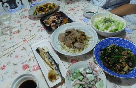 8月29日の夕食