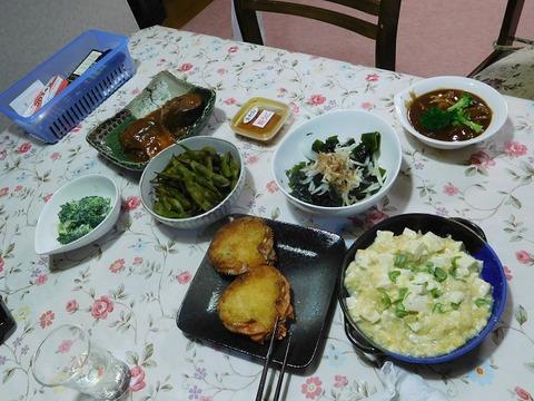 10月20日の夕食