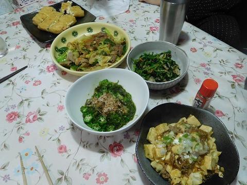 6月24日の夕食