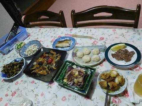 10月24日の夕食