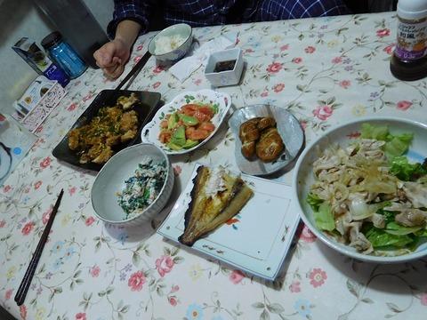 3月13日の夕食