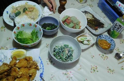 6月21日の夕食