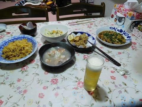 3月22日の夕食