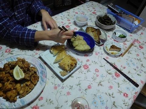 10月30日の夕食