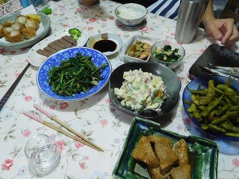 9月4日の夕食