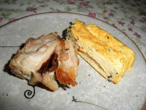 玉子焼き&鶏の照り焼き
