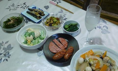 7月30日の夕食