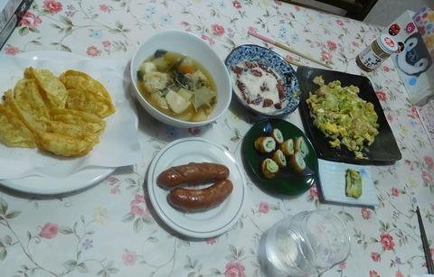 5月2日の夕食