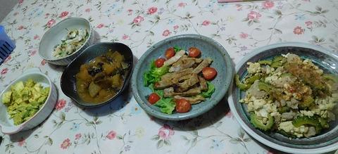 4月1日の夕食