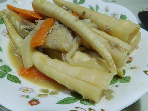 筍の味噌煮