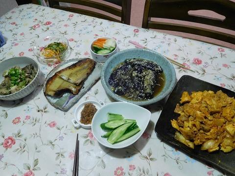 9月25日の夕食