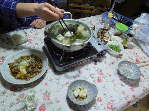 12月6日の夕食