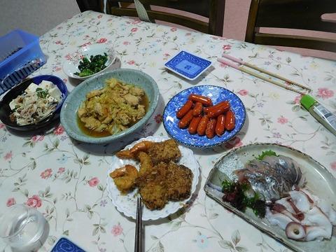 6月27日の夕食