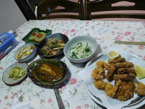 11月25日の夕食