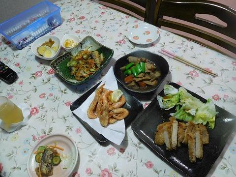 7月3日の夕食