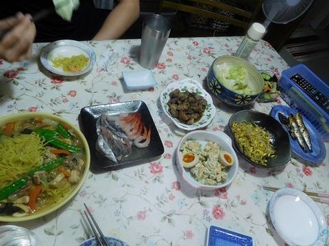 5月9日の夕食