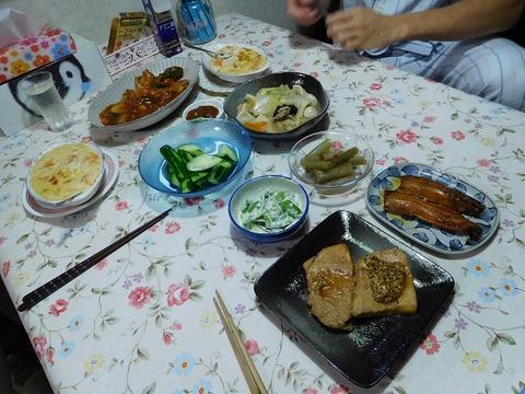 7月28日の食卓