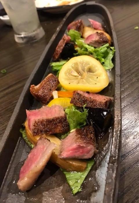 五島牛ステーキ
