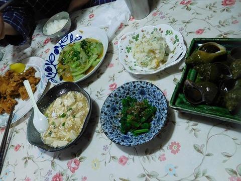 4月9日の夕食