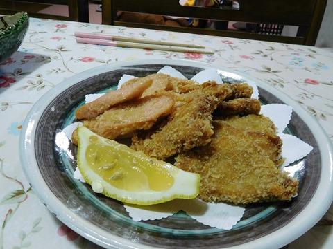 鮪&魚肉ソーセージフライ