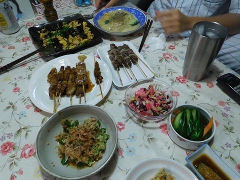8月31日の夕食