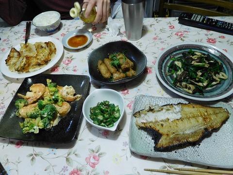 3月2日の夕食