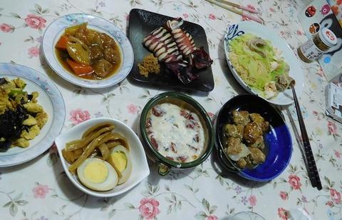 3月9日の夕食