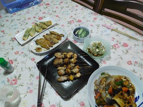 9月28日の夕食